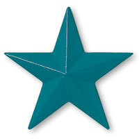 Plaque color teal blue