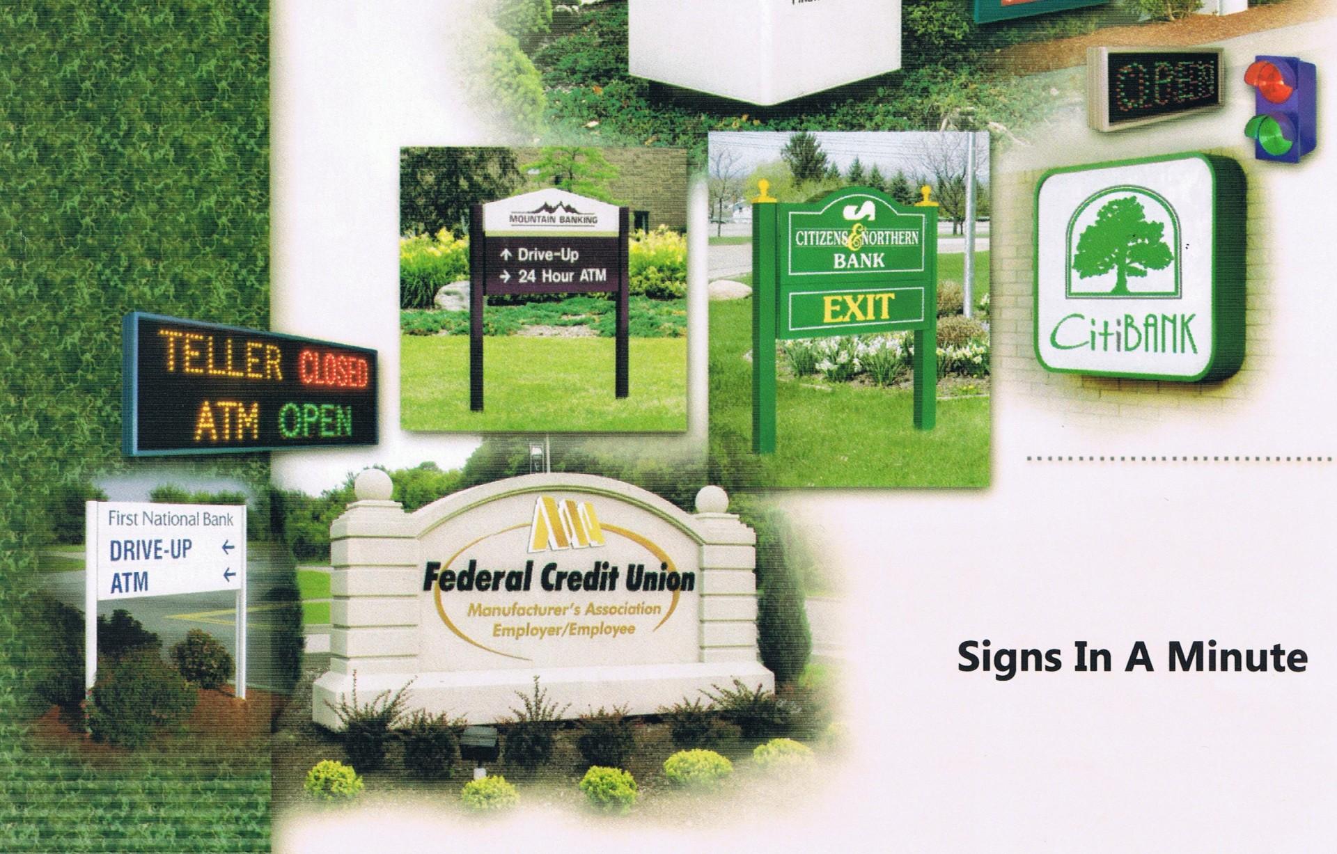 Bank Signs