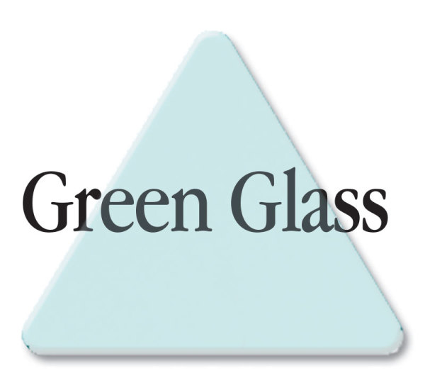 3030 Green Glass