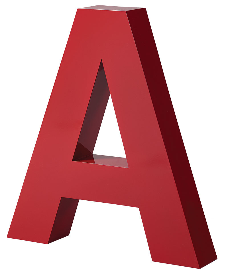 Aluminum Fabricated Letters