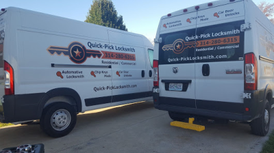 Quick-Pick Locksmith Eastern - Central Missouri Mobile Vans