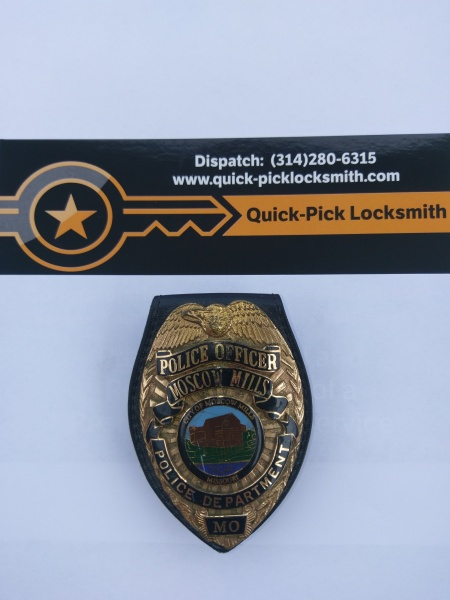Quick-Pick Locksmith of Eastern and Central Missouri Support Law Enforcement