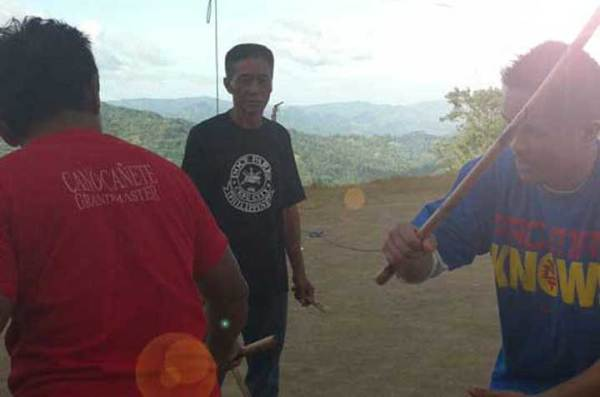 "GM Felix ""Tenciong"" Gutang with Master Albert in Cebu"