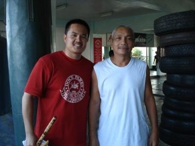 "GM Bonifacio ""Loloy"" Uy and Master Albert Mendoza"