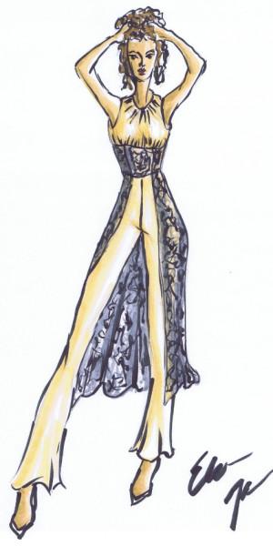 Nostalgic Elegance by Elaine James
