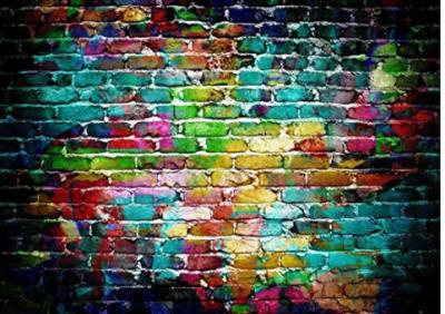 Urban Graffiti Backdrop Photobooth