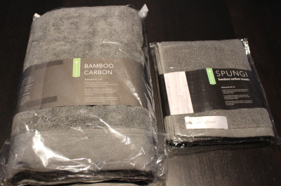 Bamboo Carbon Towels