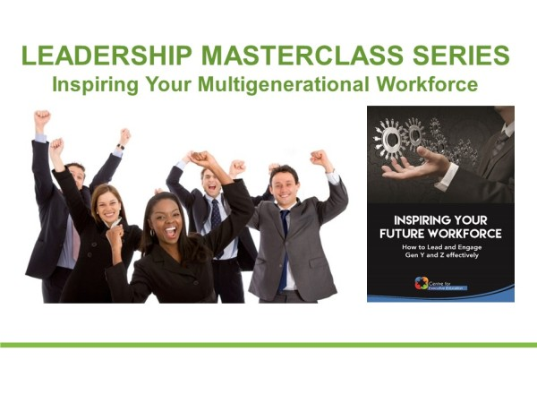 Inspiring your Multigenerational Workforce