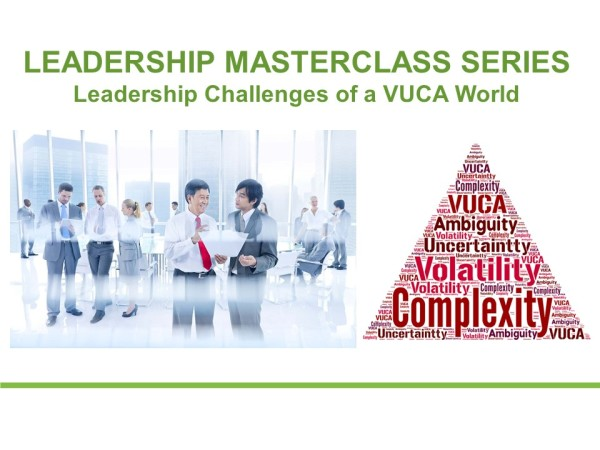 Leadership Challenges of a VUCA World