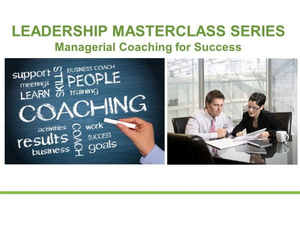 Managerial Coaching for Success