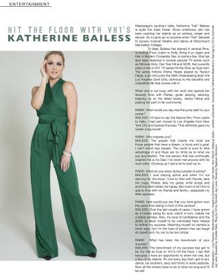 "Katherine Bailess (VH1's ""Hit The Floor)"
