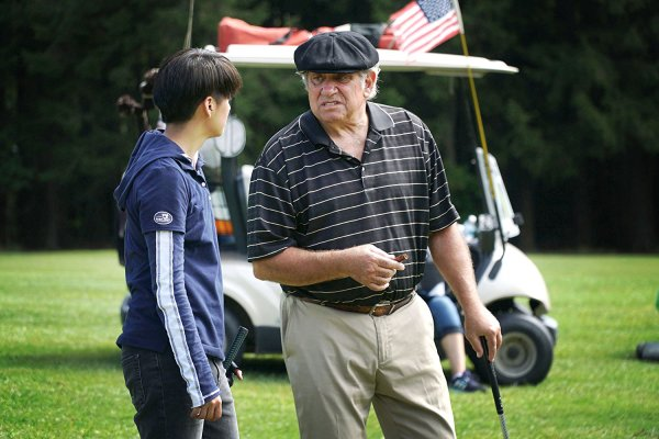 eagle, albatross, amber lui, dan lauria, wonder years, kpop star, kpop, korea, golf, golf movie, sport, hobby
