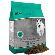 Life's Abundance all stage grain free dog food