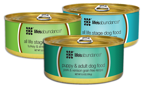 canned dog food