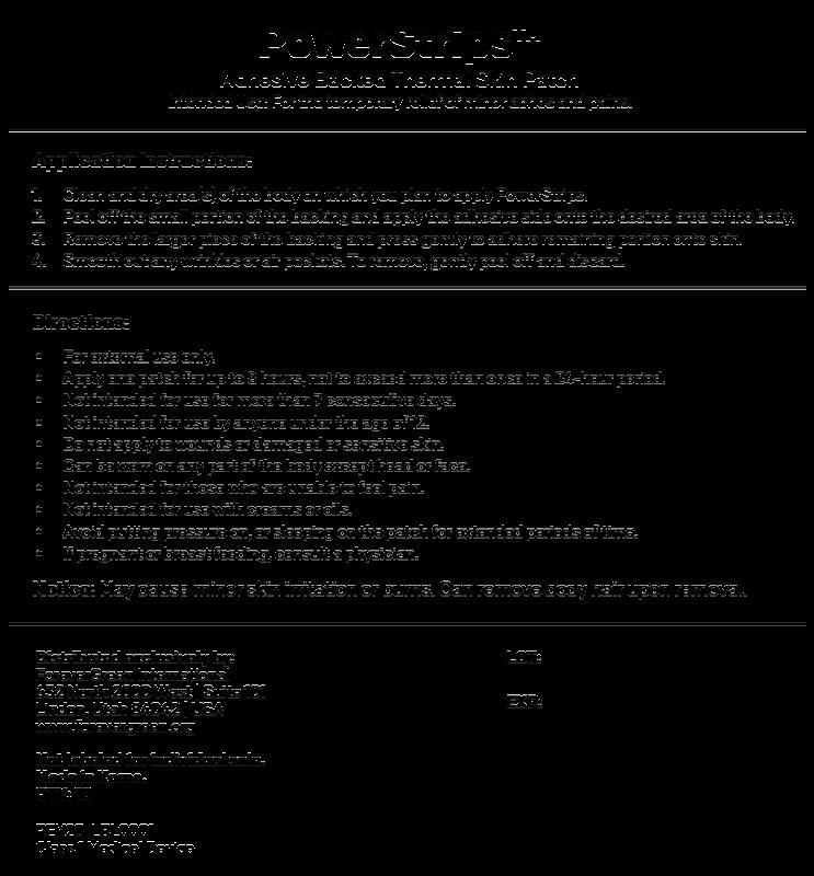 powerstrips information