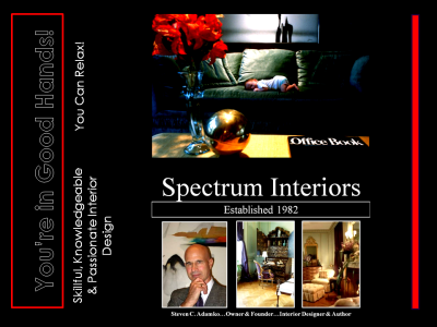 Kalamazoo's Only Master Interior Designer … Steven C. Adamko … 10 Pivotal Roles of a Great Designer!