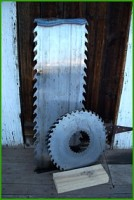 pieces of saw blade