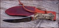 Moose camp knife profile
