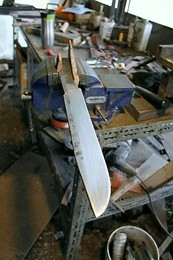 Making a survival knife