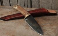 Handmade bushcraft knife