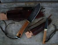 handmade bush craft and hunting knives