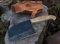 hand made cleaver profile