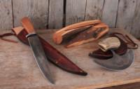 Moose meat knife set