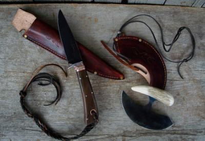 Hunting knife and ulu
