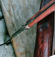 Custom sheaths to each knife we make.