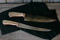 Chef knife and a fillet knife set