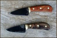 2 handmade paring knives