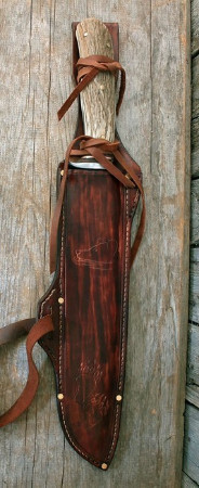 Boreal forest survival knife