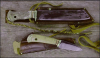 Handmade camp knives
