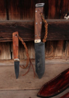 Bushcraft knife set