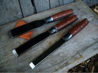 Handmade heavy duty timberframing chisels
