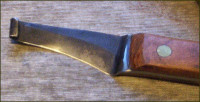 Handmade hoof knife blade