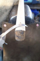 The making of a crooked blade hhook