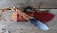 The Wiseman bushcraft knife
