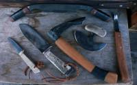 Set of 6 bushcrafter tools