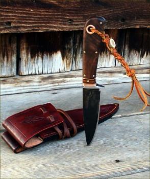 Our first Kootenai hunting Knife
