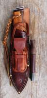 Equipt bushcraft knife sheath