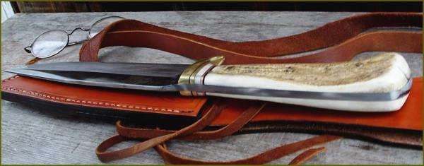 8 mm spine survival knife