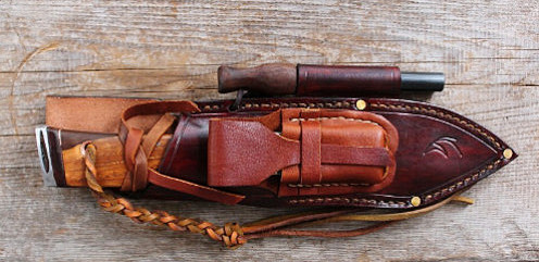 Equipt bushcraft knife sheath