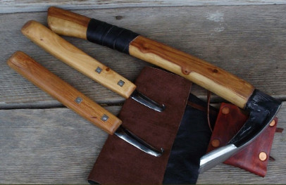 Bowl adze and and hook knives