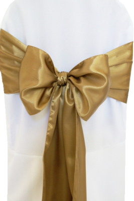 Antique Gold Satin