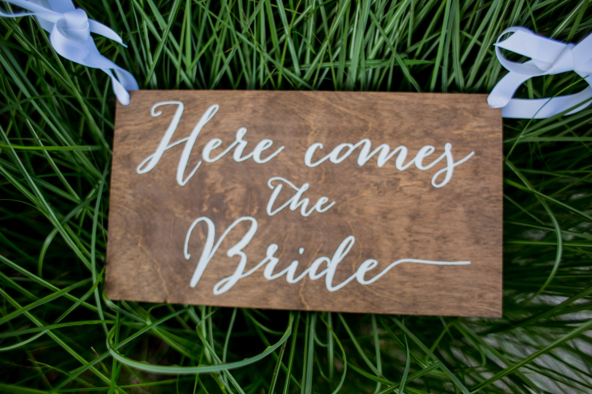 Ring Bearer Sign