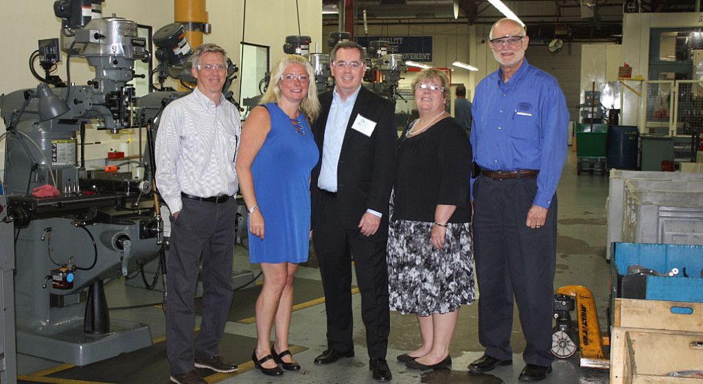 SBA visits Alpha Q, Inc.