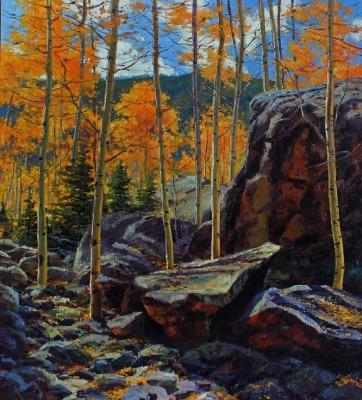 40 x 36     Mountain Gold     Oil