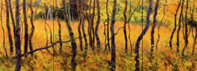 16 x 44     Golden Light     Oil
