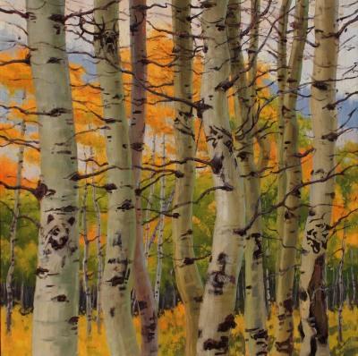 36 x 36     Tree Talk     Oil